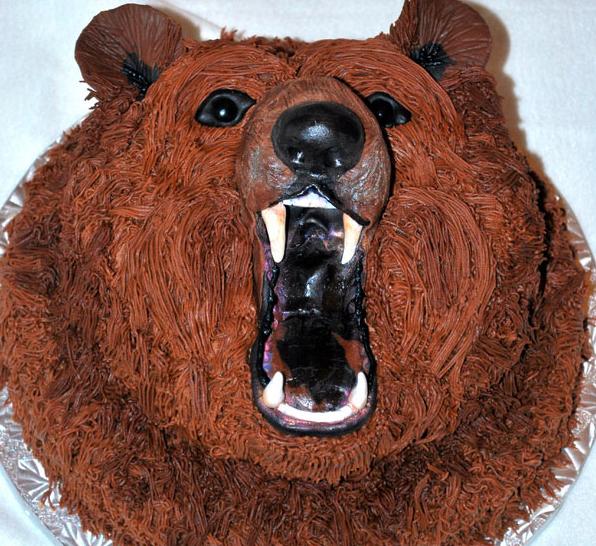 Resultado de imagem para bear cake