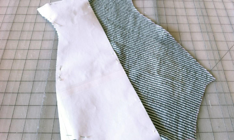 cut out pattern piece
