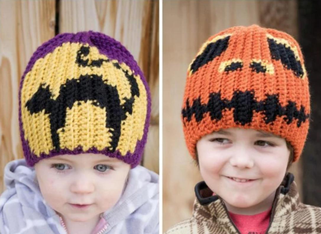 crochet halloween hats