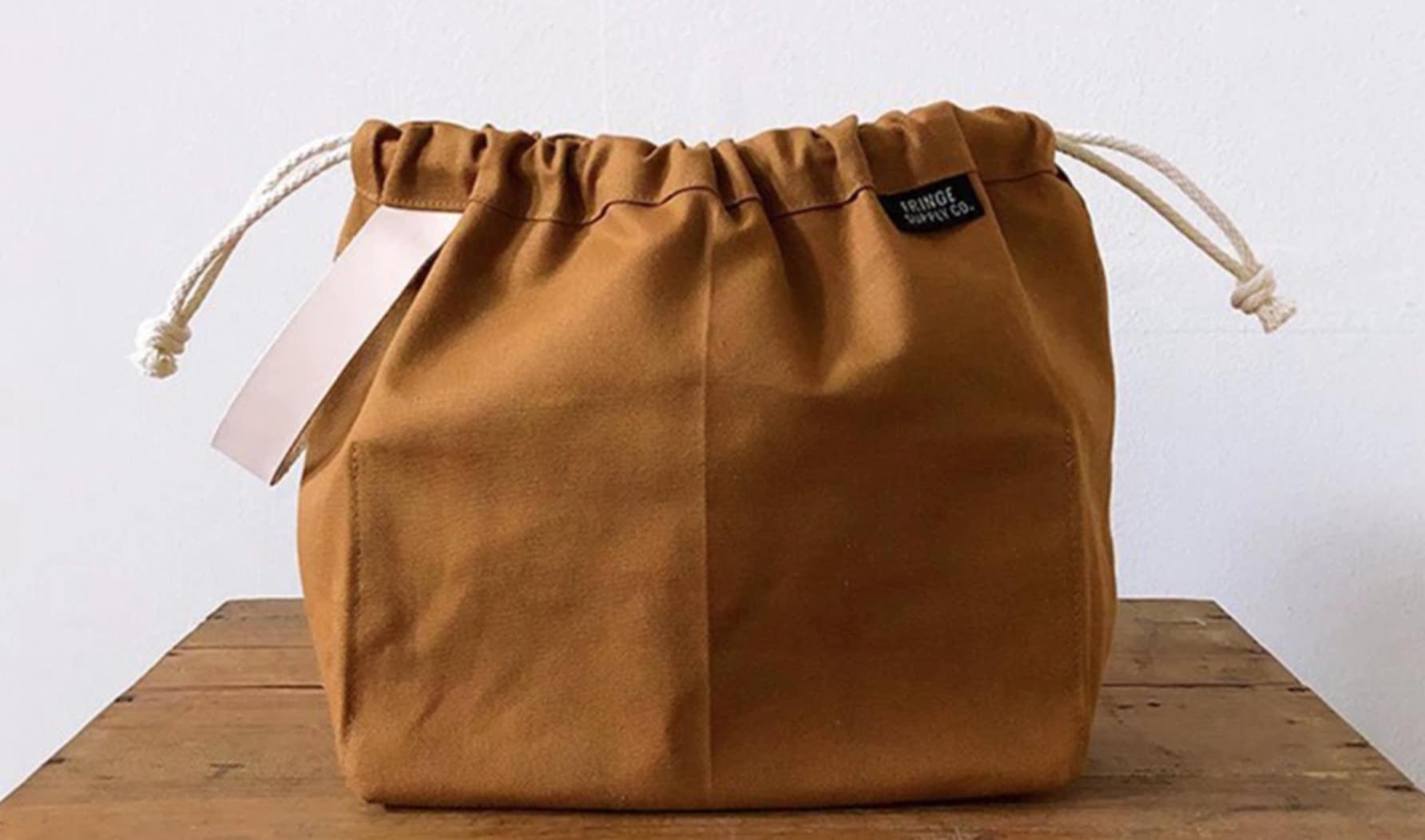 sewn pouch