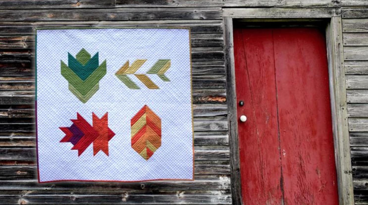 leaf peeper quilt