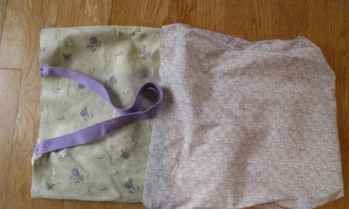 sew tote bag lining