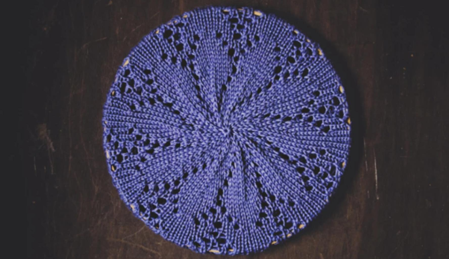 knit eyelets