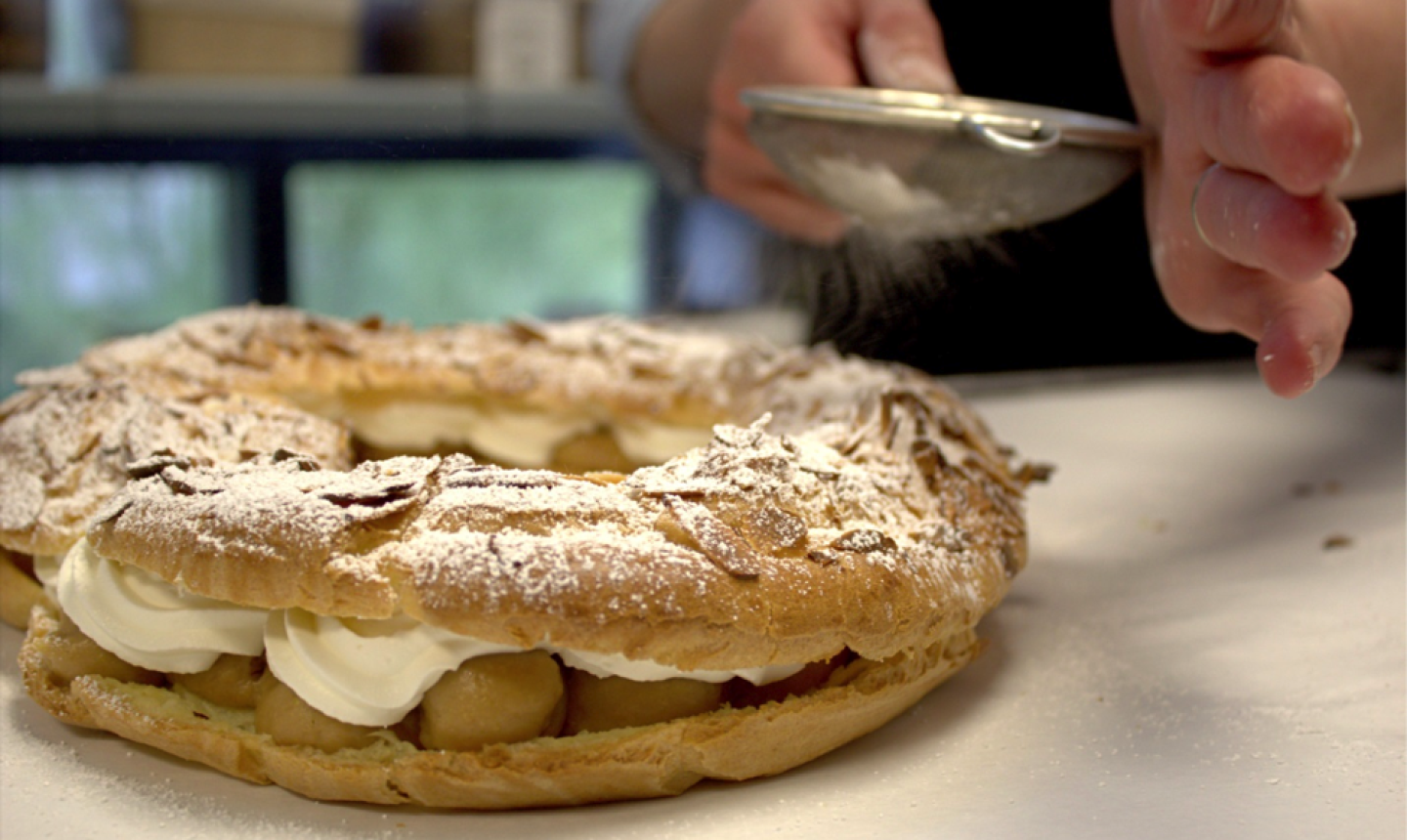 finishing paris brest