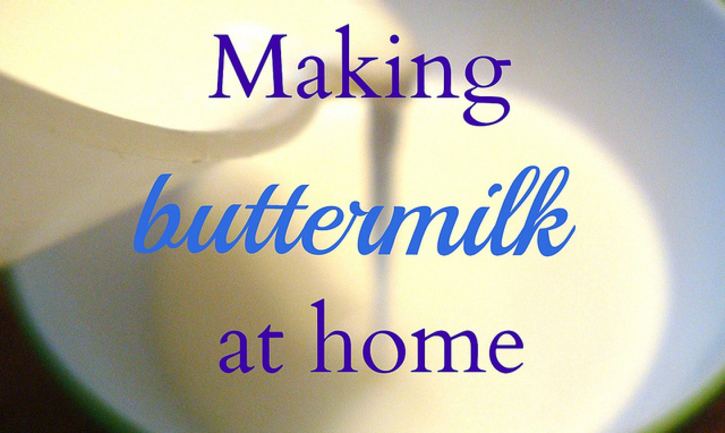 Cover for Tutorial:Making Buttermilk at Home