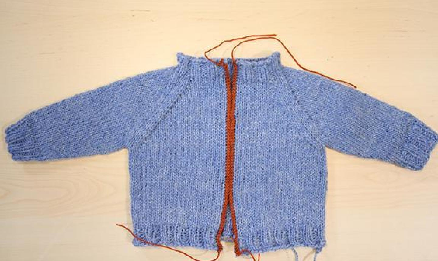 diy cardigan from a sweater