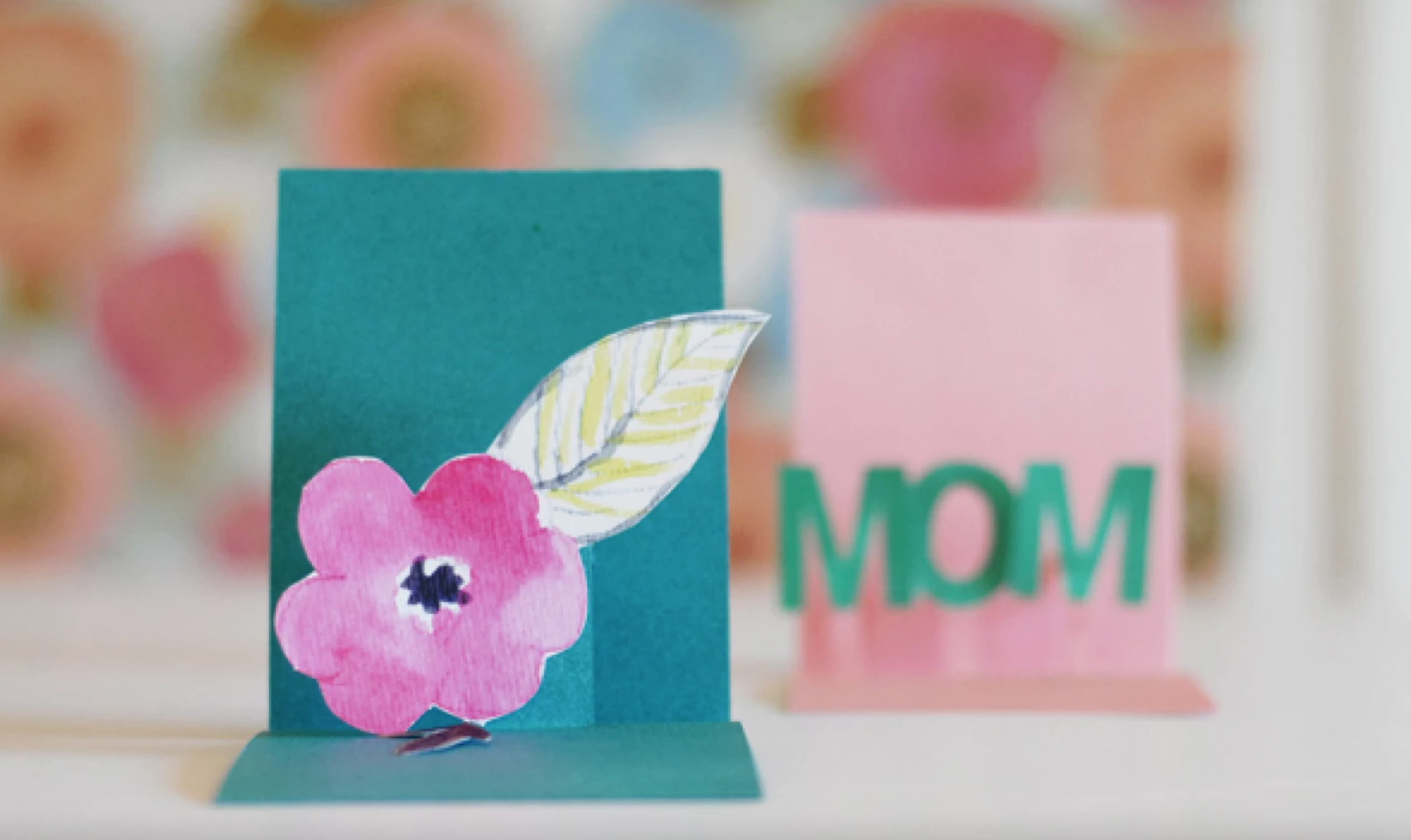 mother's day pop out cards