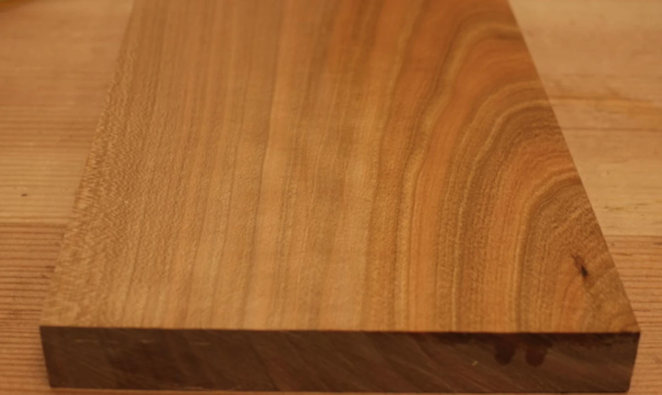 shellac waxed wood