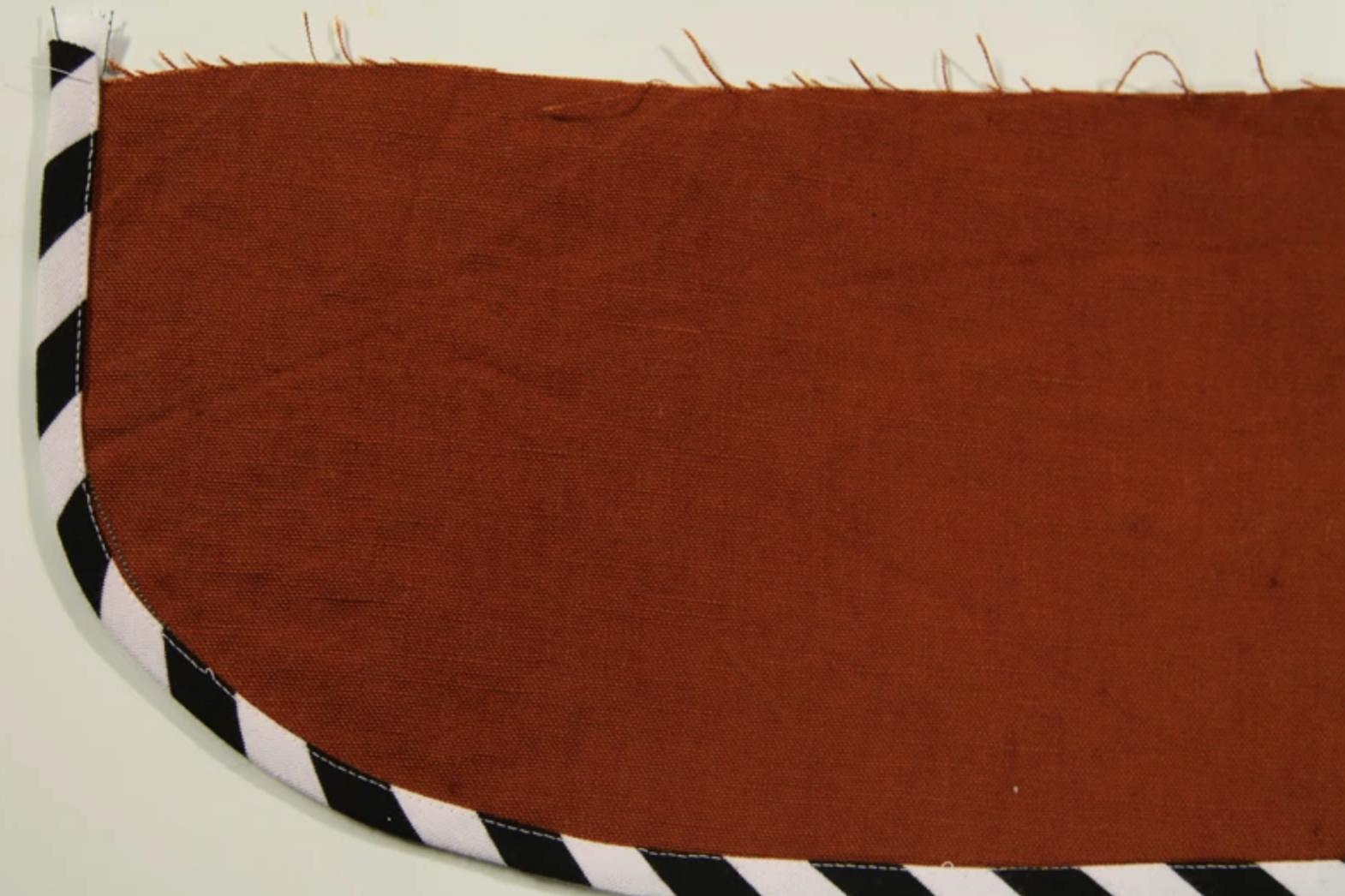 striped bias tape trim
