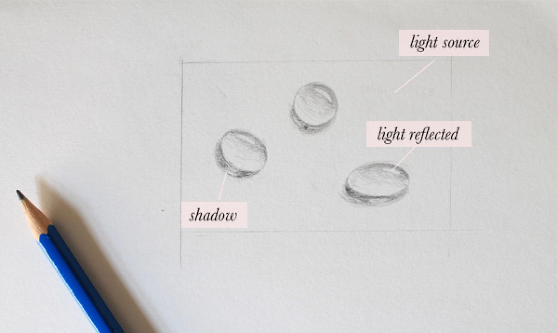 water drop sketches