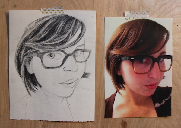 4 steps for how to draw hair in pencil craftsy