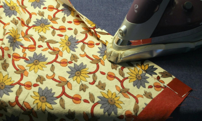 pressing wip duvet cover
