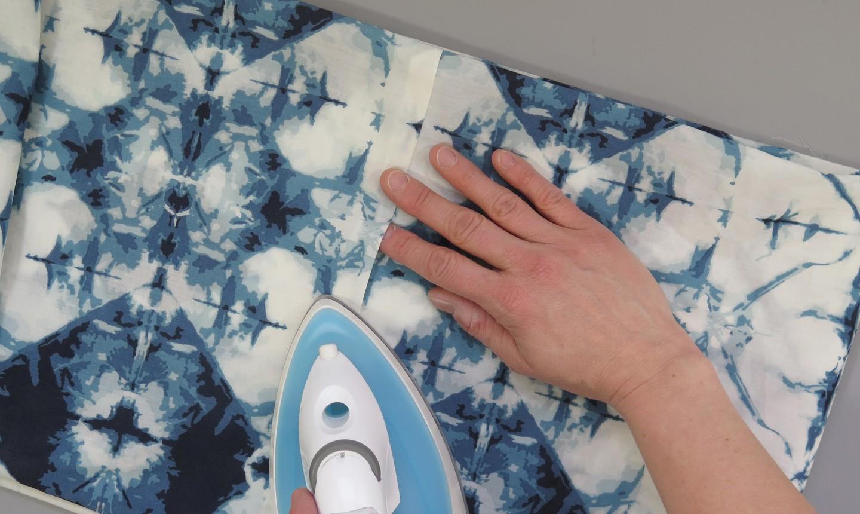 ironing infinity scarf