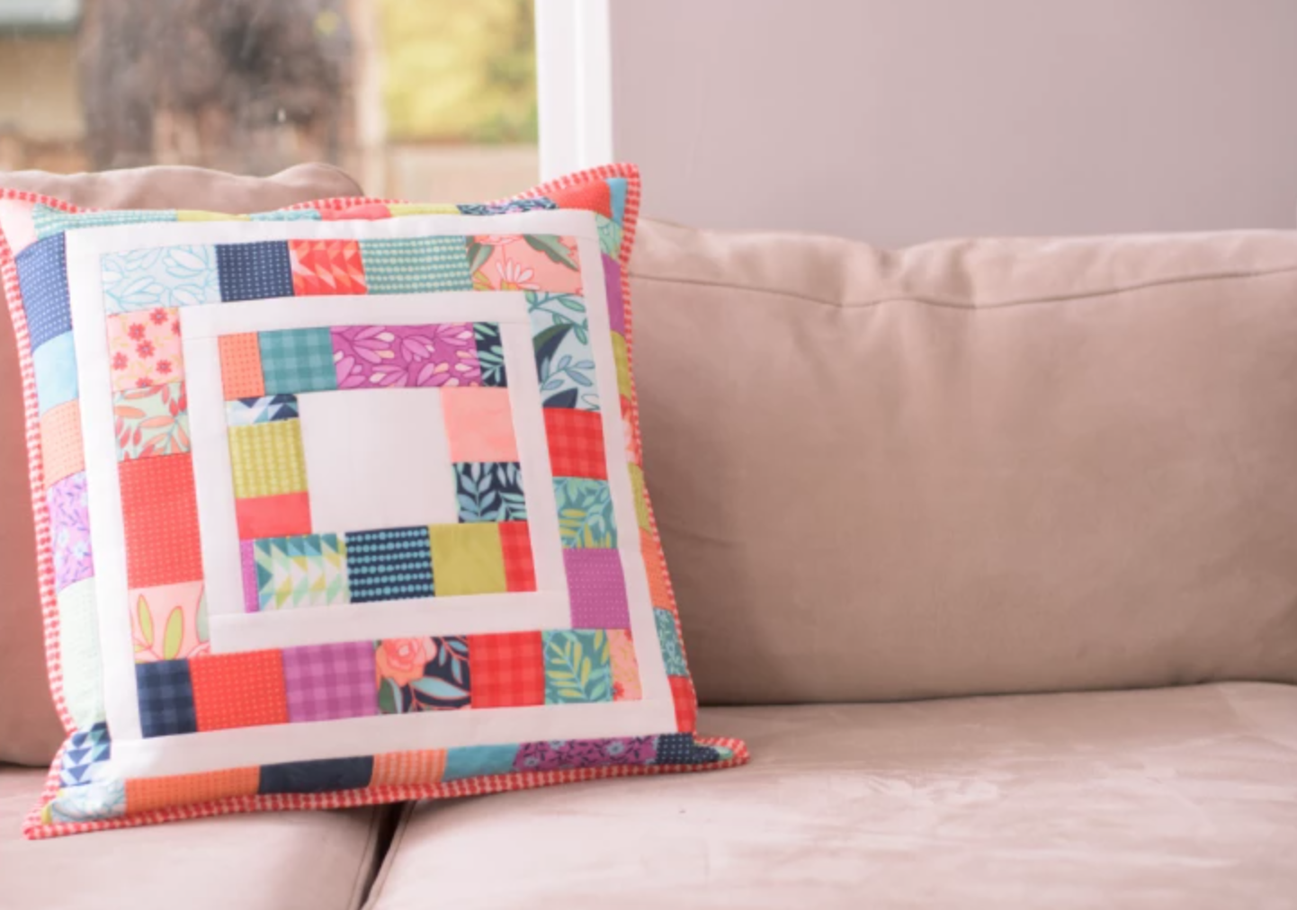 quilted repo pillow