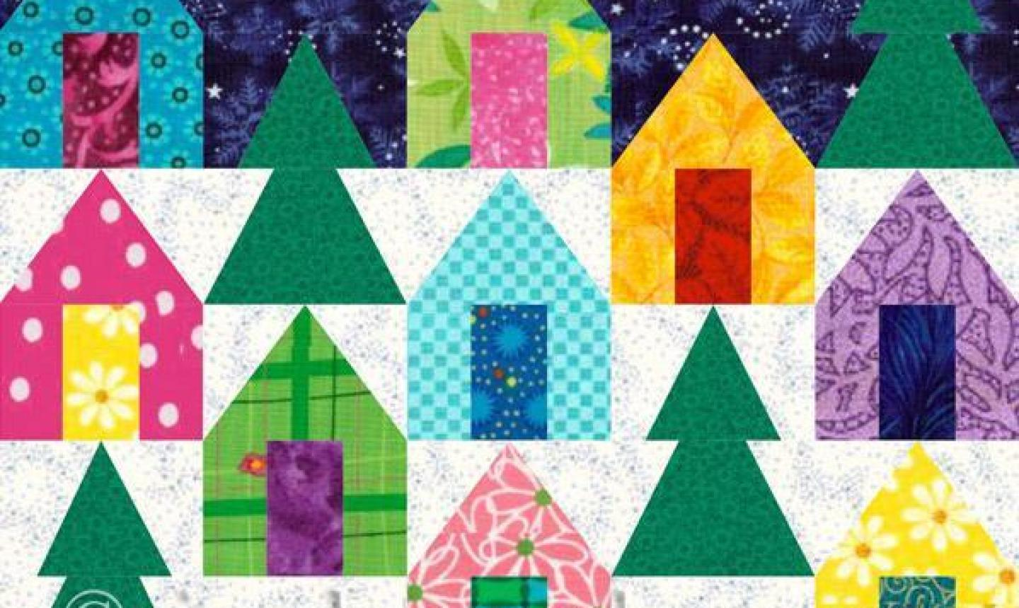 5 Christmas Paper Piecing Patterns For Beginners
