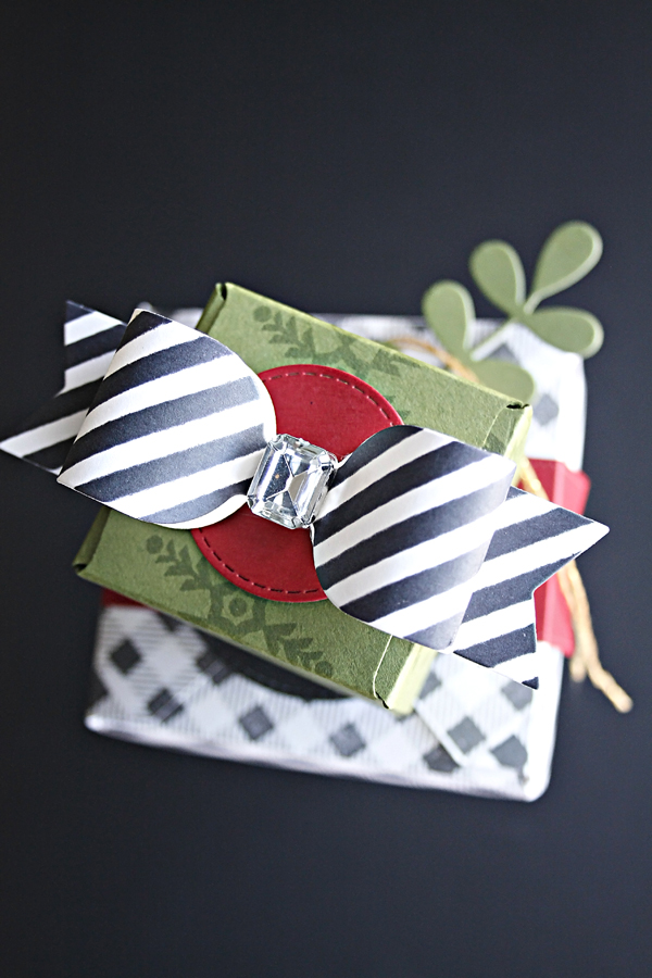 paper christmas package