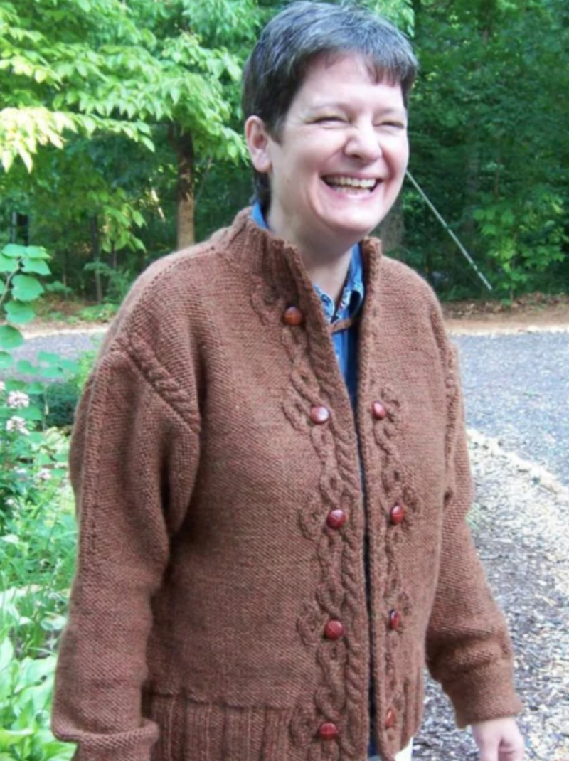 celtic closures knit sweater