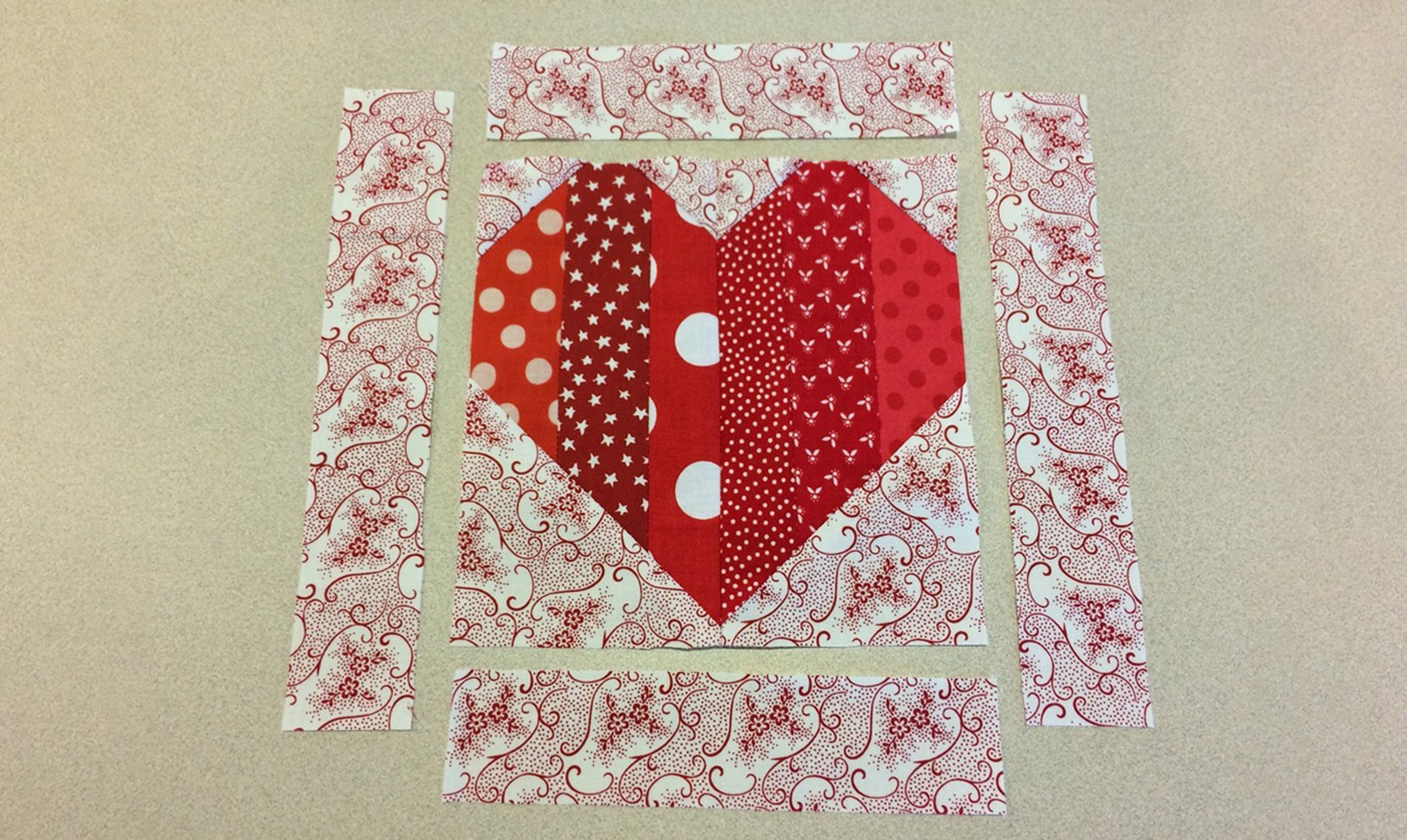 adding heart block border