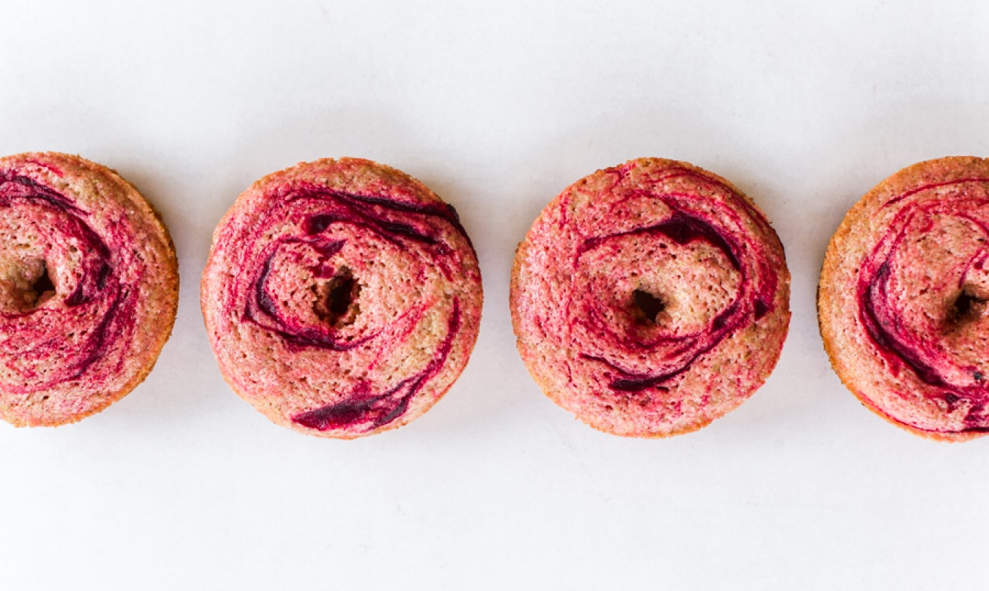 baked beet donuts