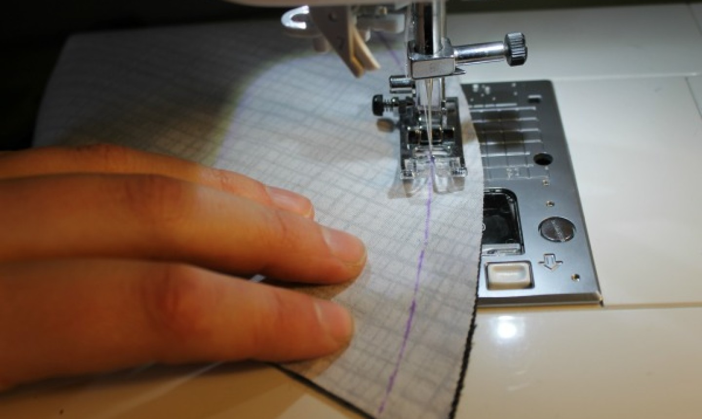 sewing curved seam