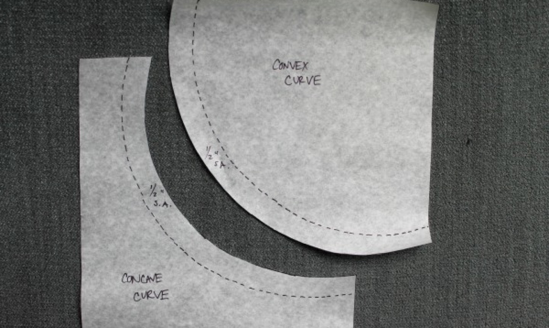 curved seam allowance