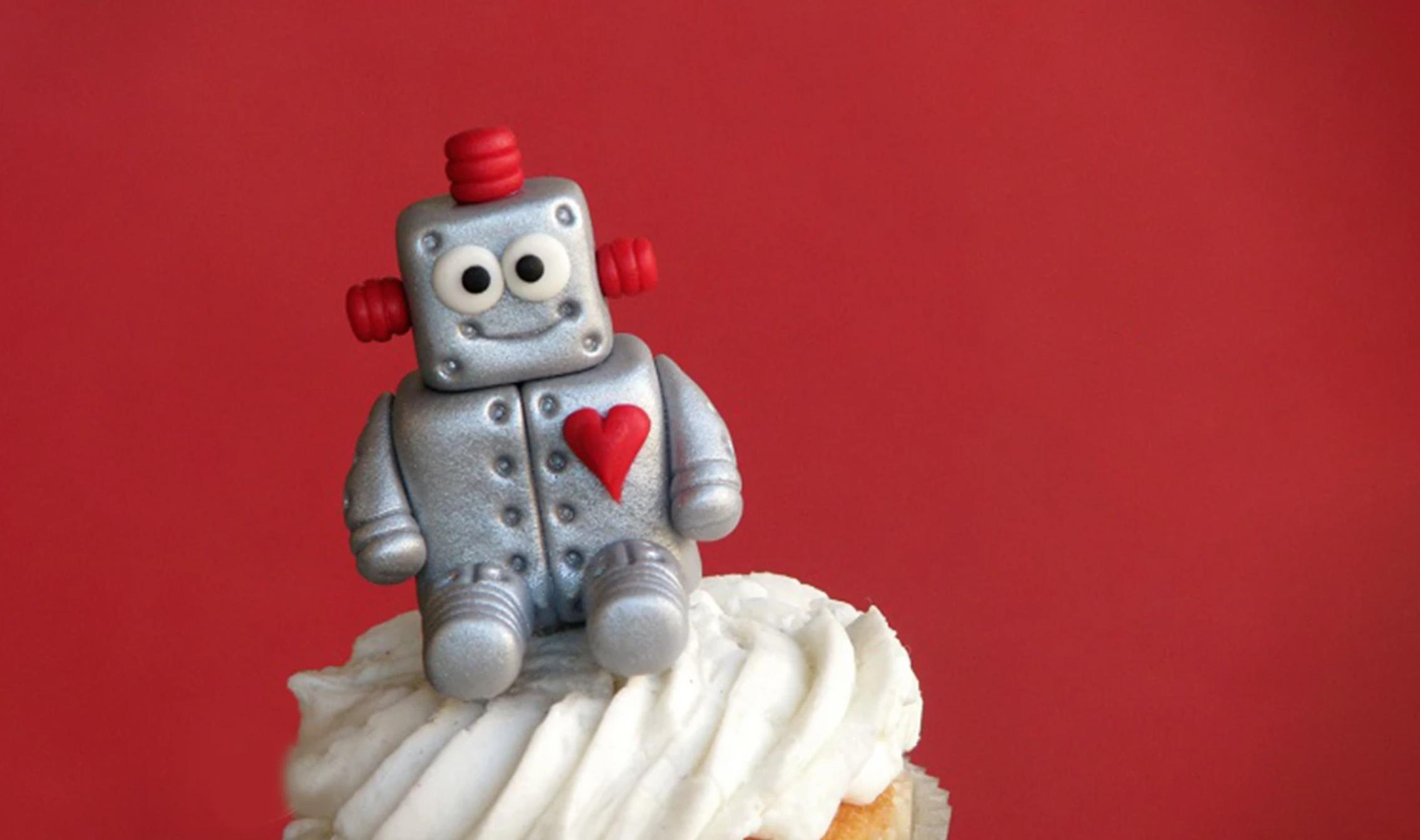 fondant love robot