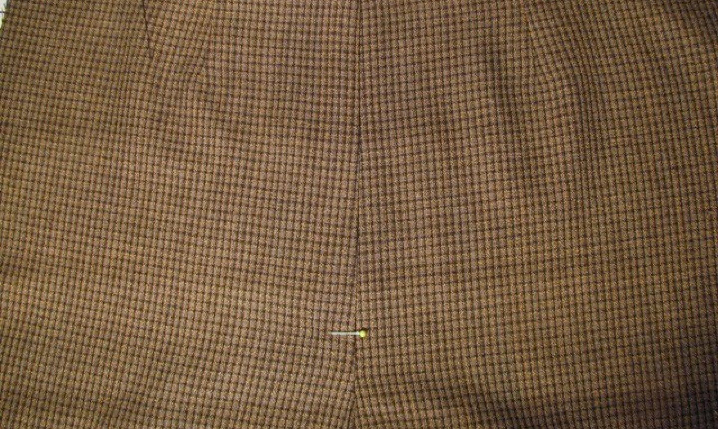 sewing fly front seam