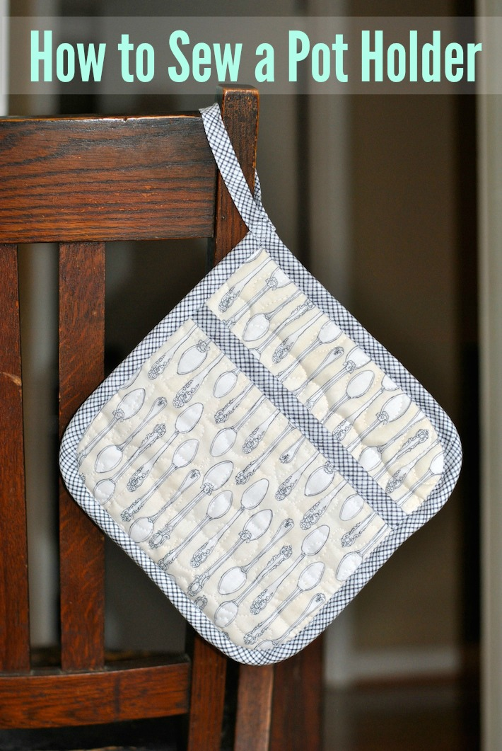 How To Sew A Quilted Pot Holder On Bluprint