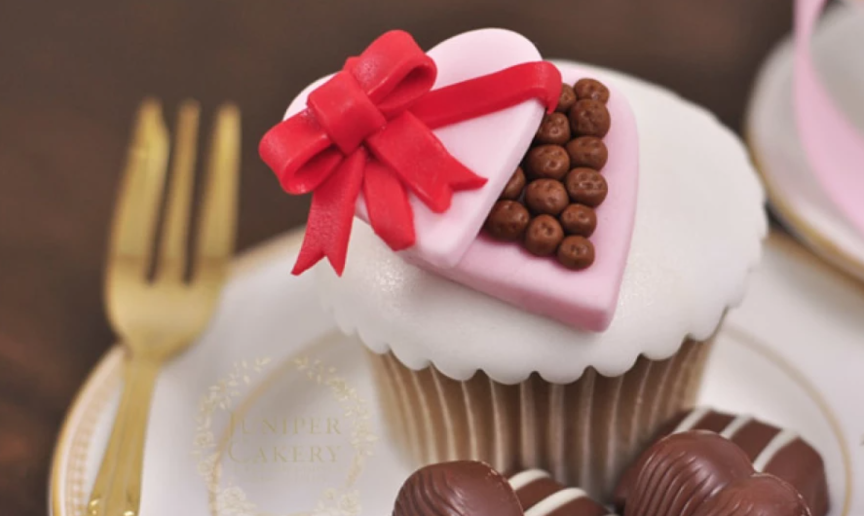 chocolate box cupcake