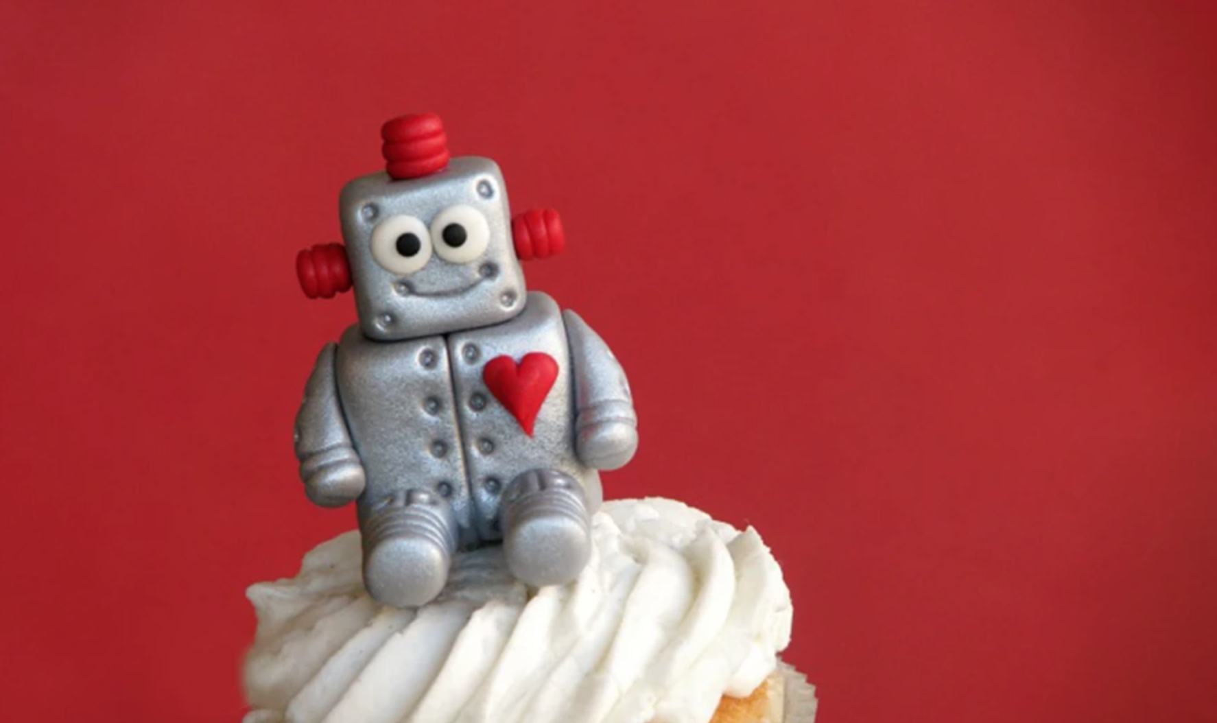 love machine fondant topper