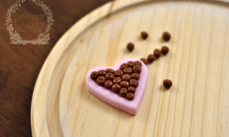 fondant chocolate box