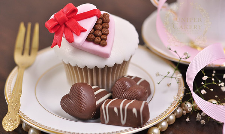 chocolate box cupcakes