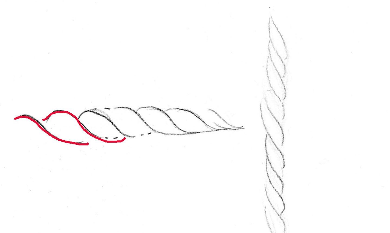 drawing basket detail