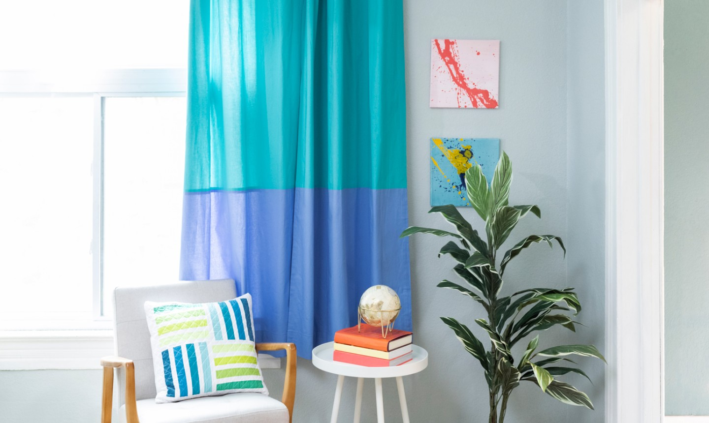 Learn How To Sew Lined Curtains Step By Step On Bluprint