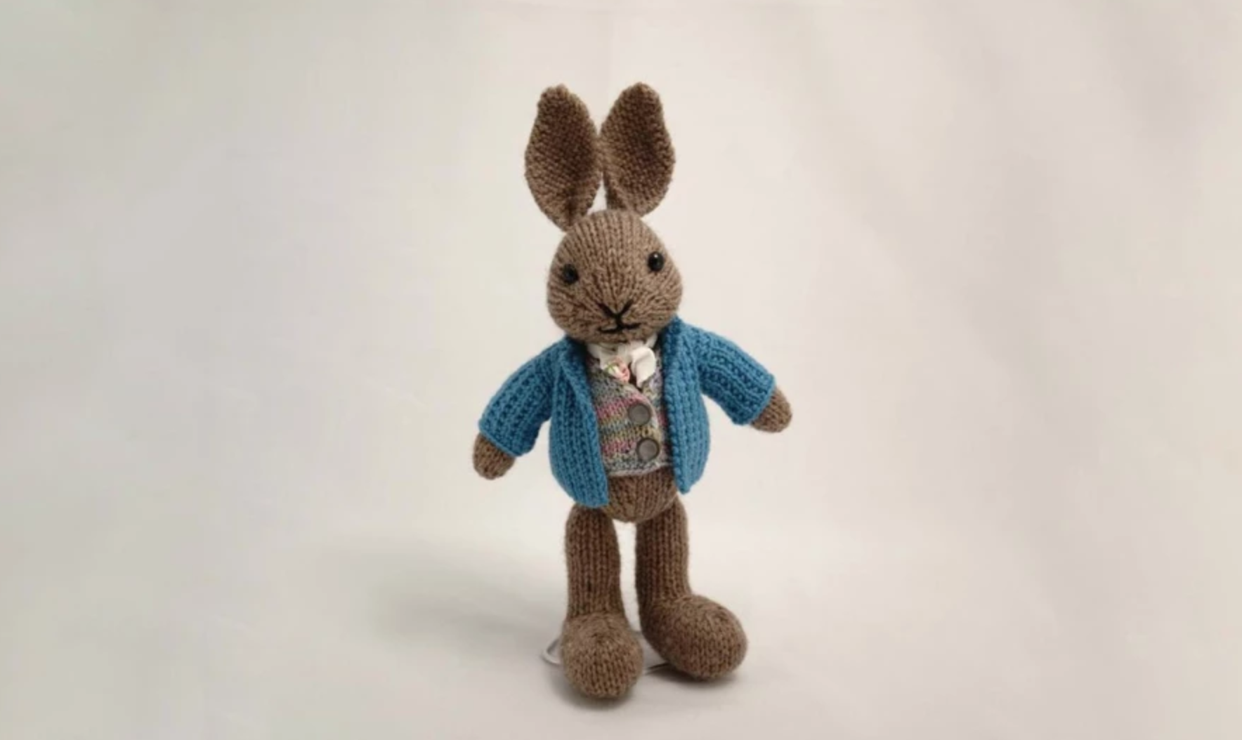 well dressed knit bunny