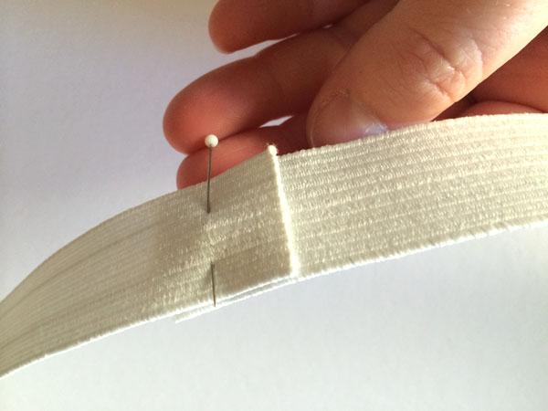Pinned elastic ends