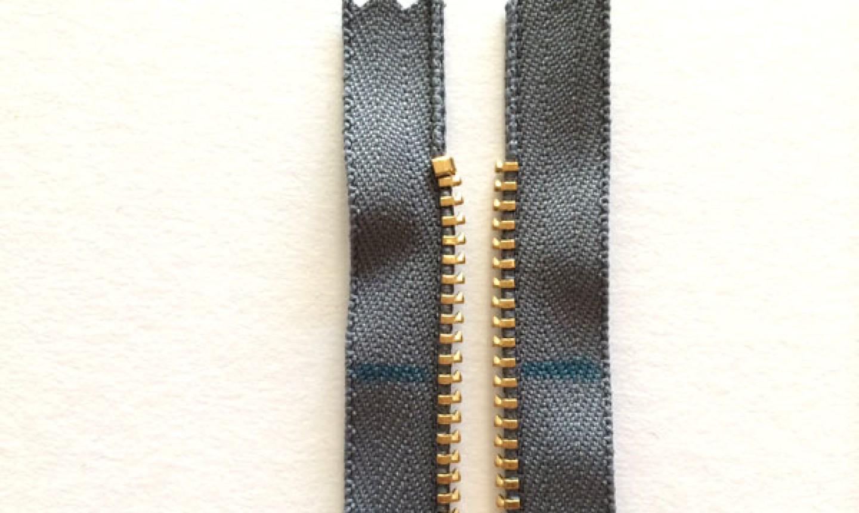 marked zipper teeth