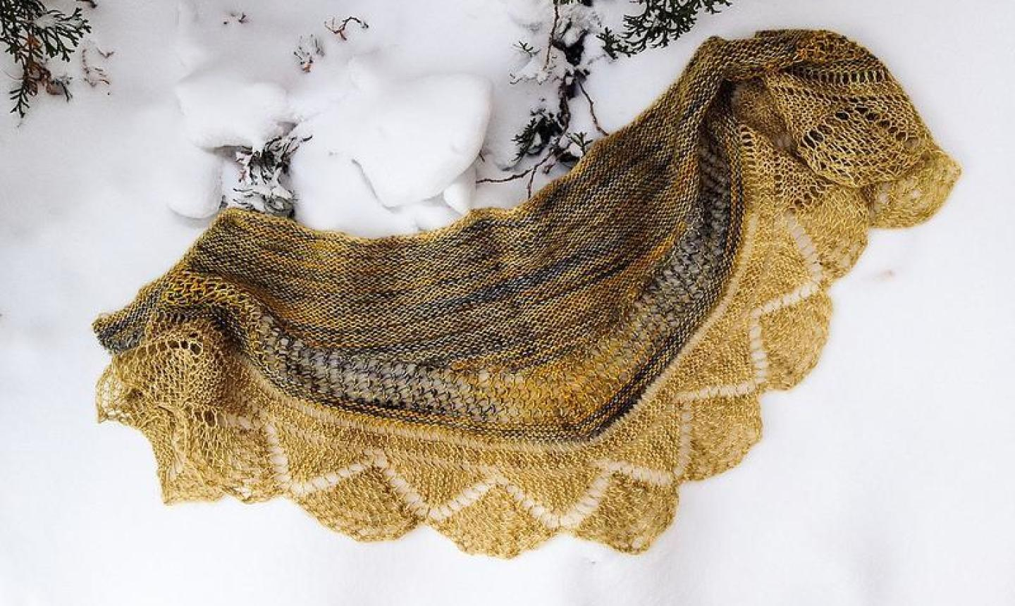 delovely shawl
