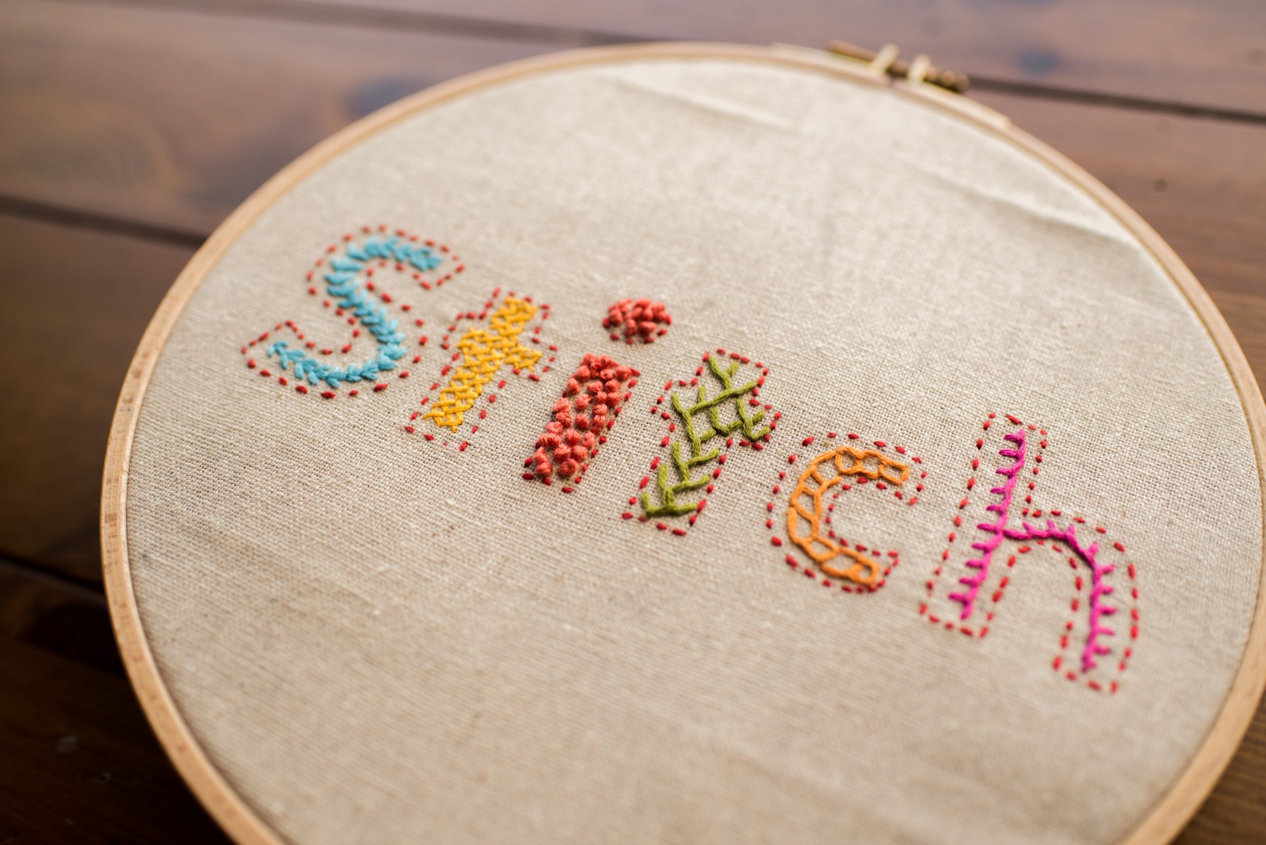 Learn How To Embroider Your Handwriting