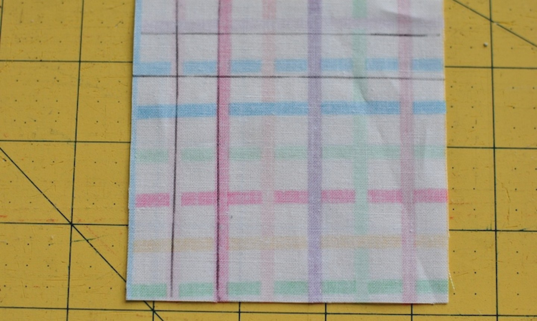 marking napkin corner