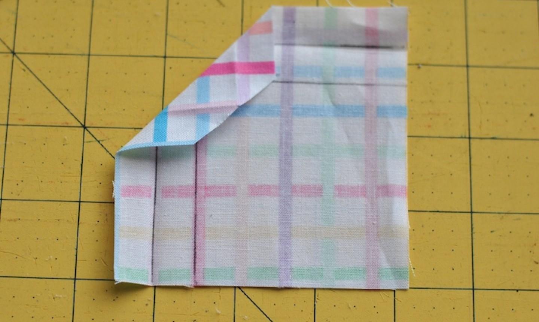 folding mitered corner