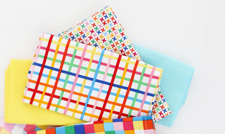 colorful napkin pile