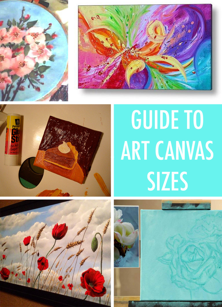 Painter S Reference A Guide To Common Art Canvas Sizes