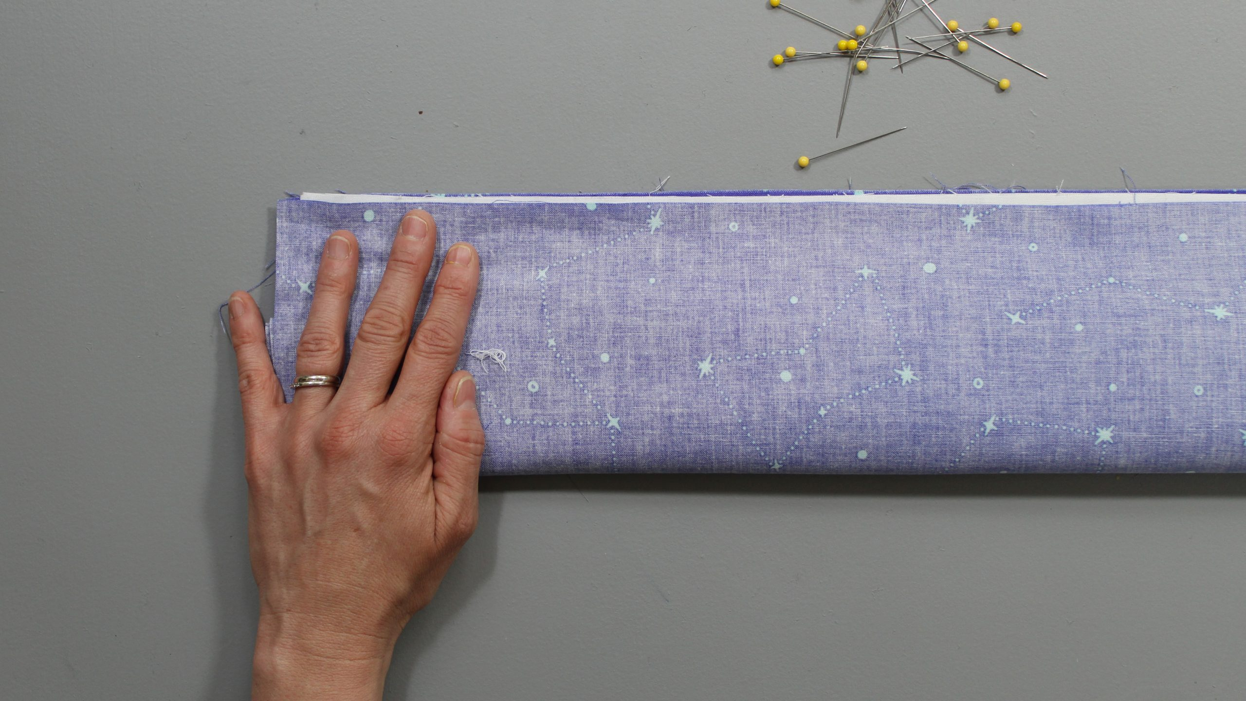 Folded constellation fabric