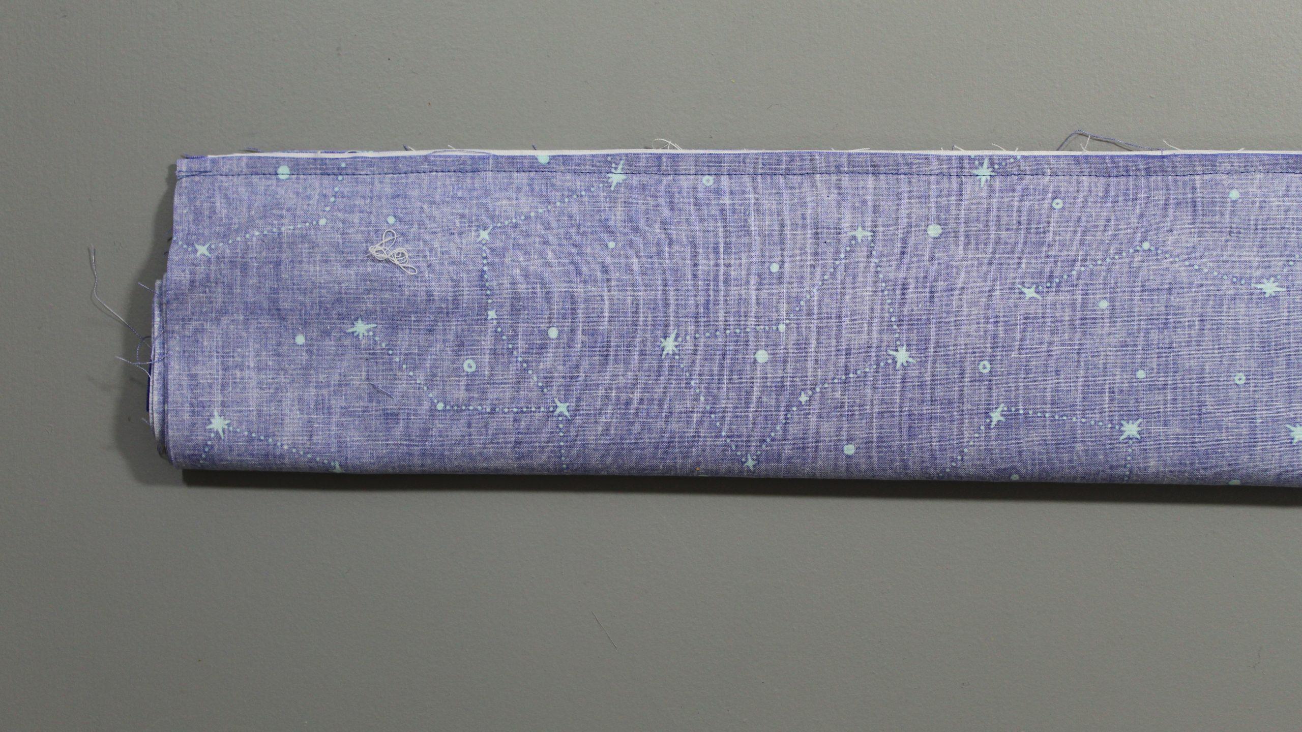 Sewn edge fabric