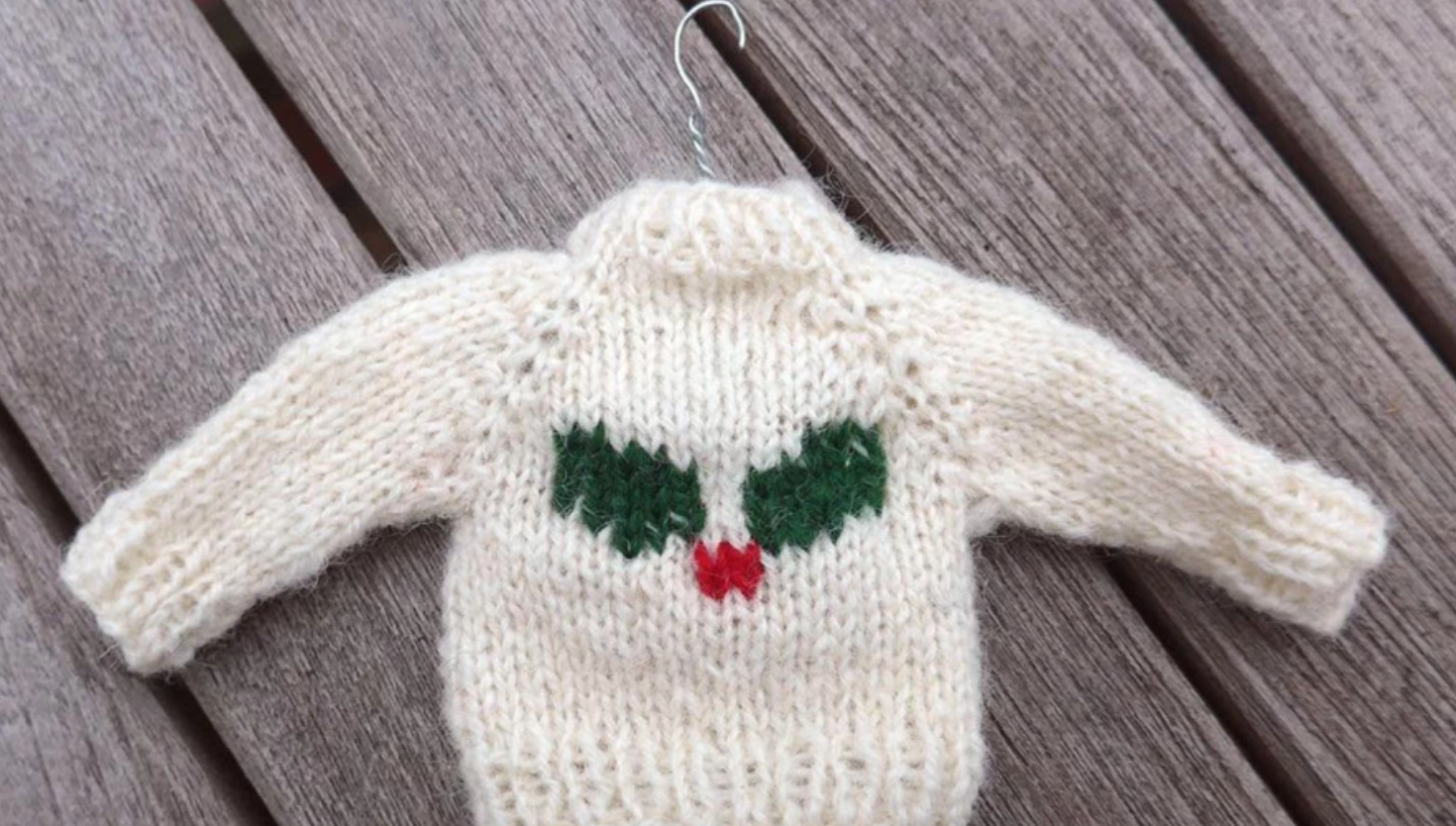 mini knit holly sweater