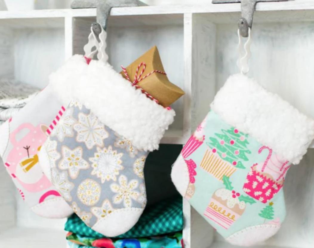 mini sewn stockings