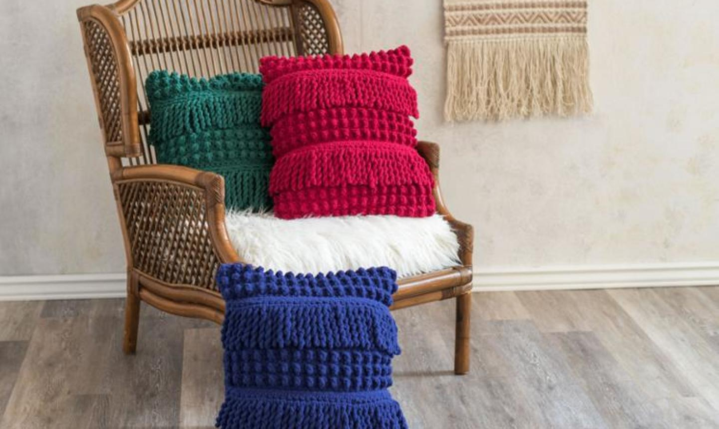 Crochet Pillow Covers That Fit And Function Craftsy