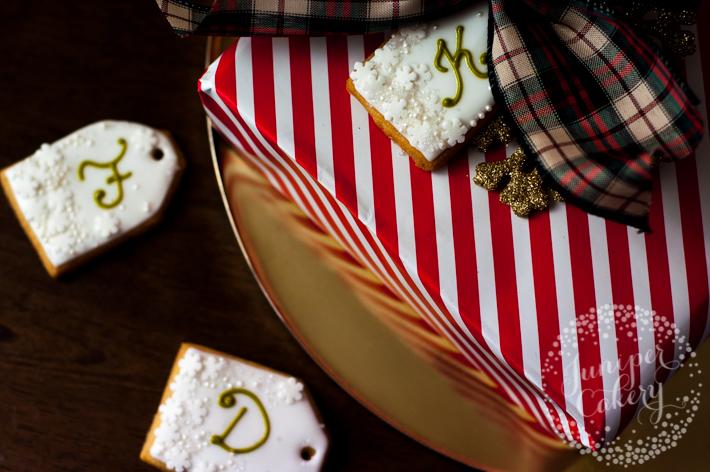 christmas cookie tag