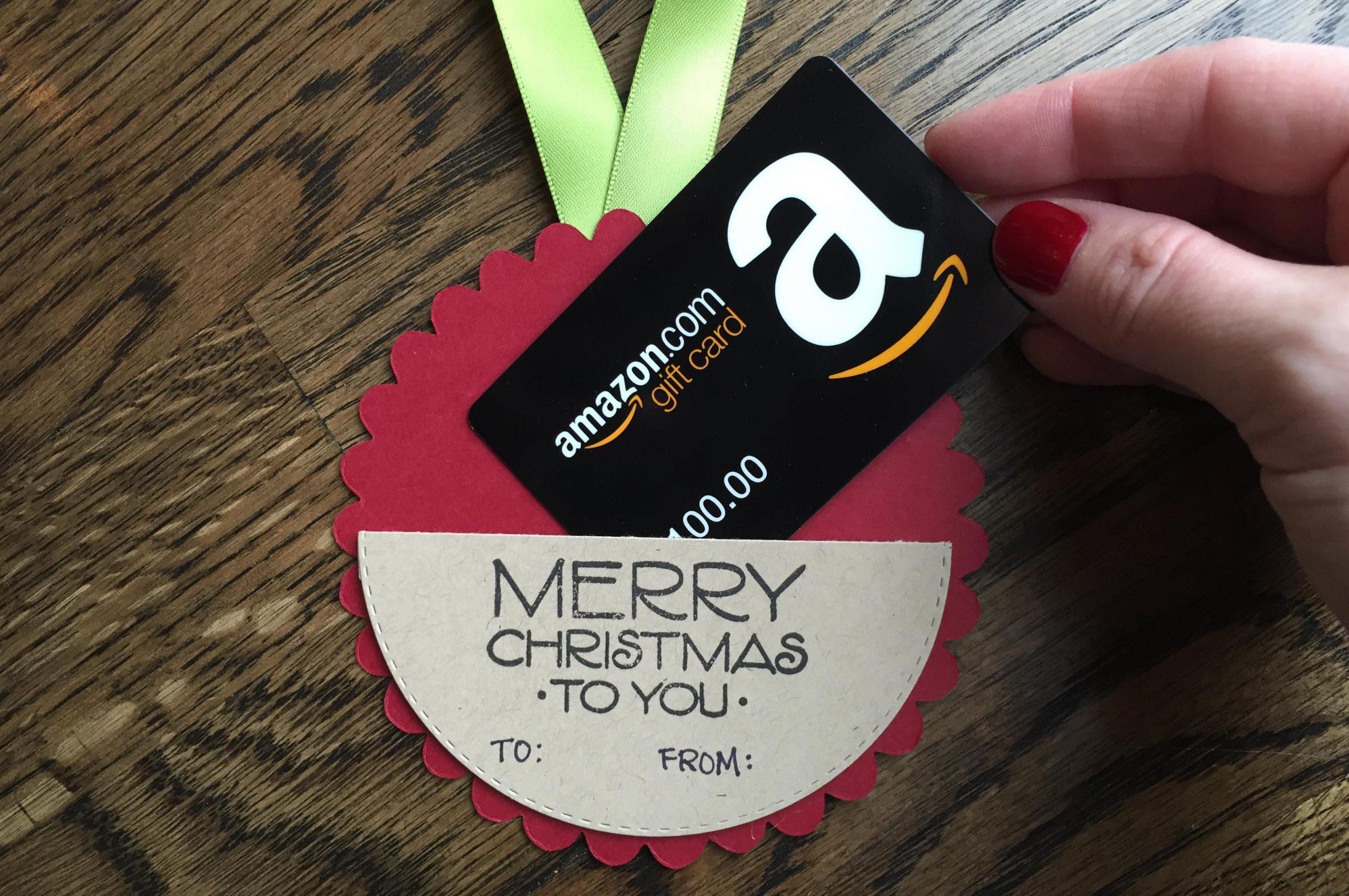 Diy Gift Card Holder Christmas Ornament Free Tutorial